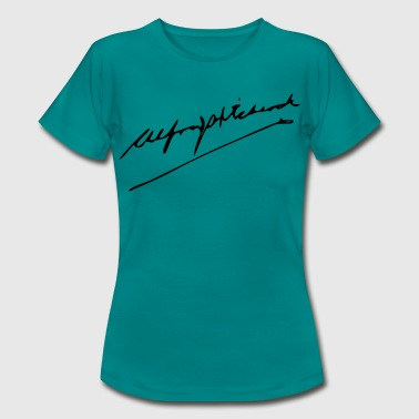 Alfred Alfred Hitchcock autograph - Women's T-Shirt