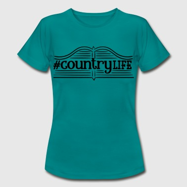Vie À La Campagne Countrylife - Vie à la campagne - Nature - Village Child - Farmer - T-shirt Femme