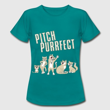 Choir Pitch Purrfect - Women's T-Shirt