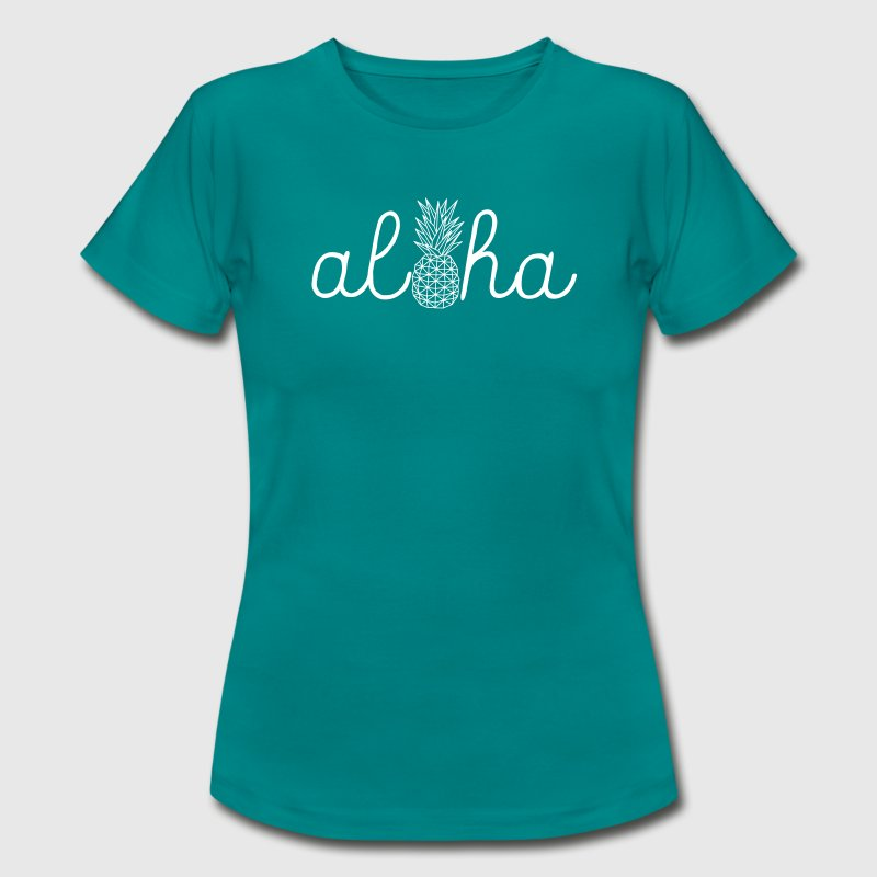 Aloha Pineapple - Women's T-Shirt