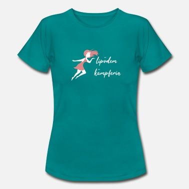Fee Rosa Lipödem Kämpferin Rosa Fee - Frauen T-Shirt