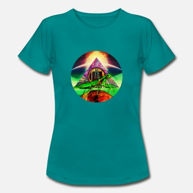 Leafy leafy Disc - Women's T-Shirt