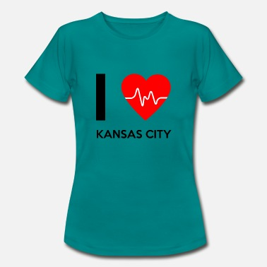 Kansas City Amo Kansas City - Me encanta Kansas City - Camiseta mujer