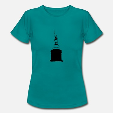Herman Hermann monument - T-shirt dam