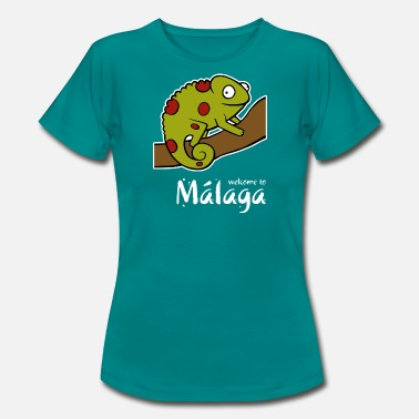 Kameleon Welcome to Malaga 2 (dark) - Women's T-Shirt