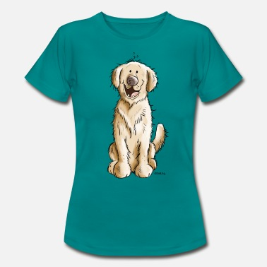 Retriever Golden Golden Retriever - Women's T-Shirt