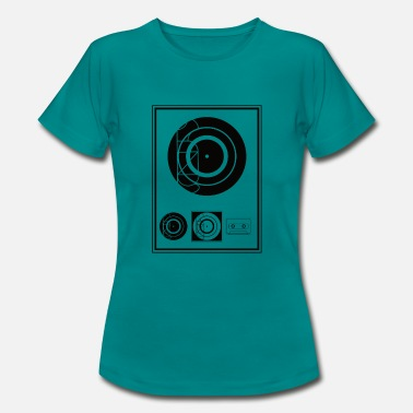 Black Music Kynda Music Black Plaque - Vrouwen T-shirt