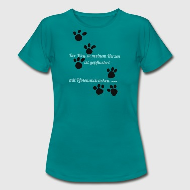 paws - Women's T-Shirt