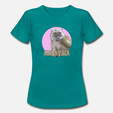 Macaque Macaques rose - T-shirt Femme