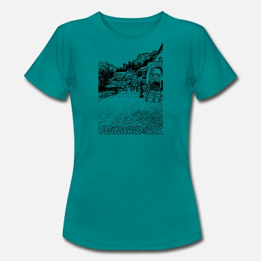 Oude Stadskern oud dorp - Vrouwen T-shirt