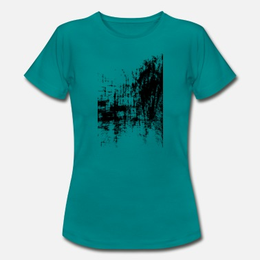 Banquet Surreal Art Black - Women's T-Shirt