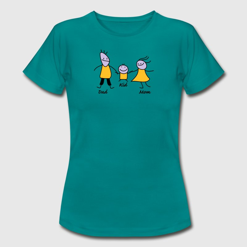 happy family - Frauen T-Shirt
