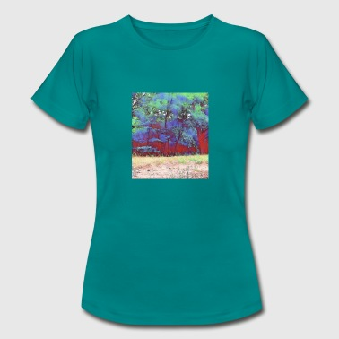 Different Colour Forest differently - Women's T-Shirt
