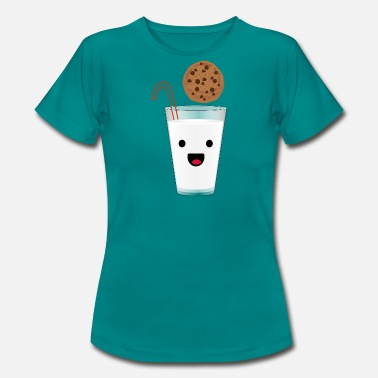 Cowes Week Biscuit with milk - Women's T-Shirt