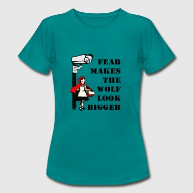 Monitoring stokes fear - Women's T-Shirt
