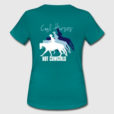 Chevaux cool - cow-girls - T-shirt Femme