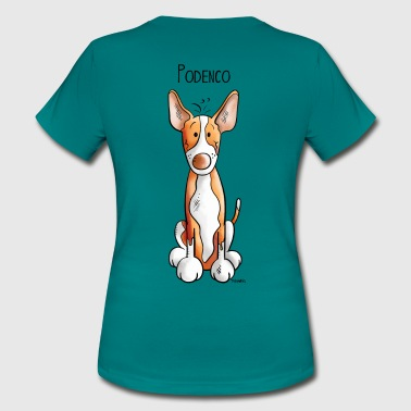Funny  Podenco - Dog - Dogs - Cute - Pets - Women's T-Shirt