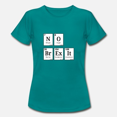 No Brexit T-shirt - Frauen T-Shirt