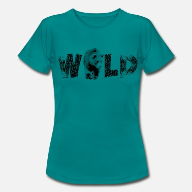 Wilderness Bear - Wilderness for Wilderness Tour Gift - Women's T-Shirt