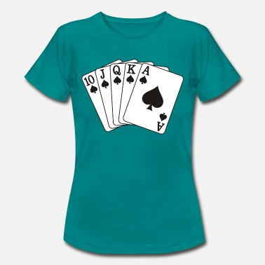 Quinte Flush Royale Quinte flush royale - T-shirt Femme