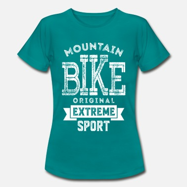 Extremsport Mountainbike Extremsport - Frauen T-Shirt