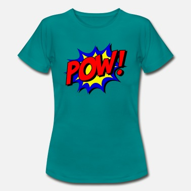 Punch Pow! Punch. - T-shirt dame