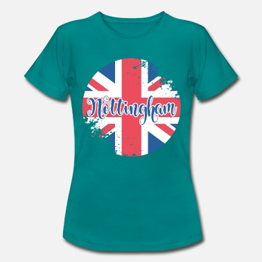 Nottingham Button Nottingham - Women's T-Shirt