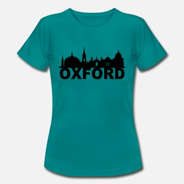 Oxfordshire Oxford England Skyline Geschenk Idee UK - Frauen T-Shirt