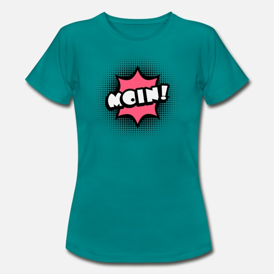 Art T-Shirts - Moin! Pop-Art - Frauen T-Shirt Divablau