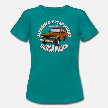 Station Wagon Station Wagon BROWN - Women's T-Shirt
