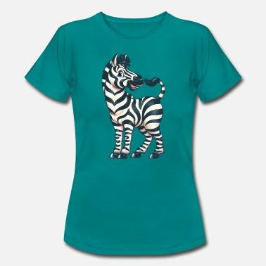 98d5138a Little Red Riding Hood My Little Zebra Print, Zebra Lover Gift, Safari -  Women&. New. Women's T-Shirt