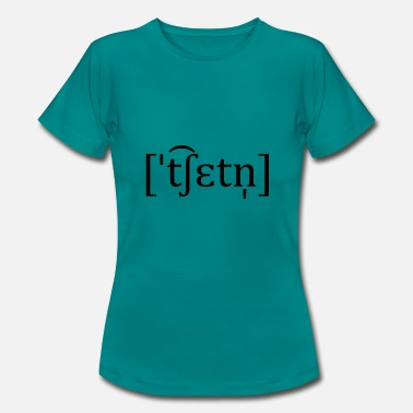 Chat chat - T-shirt dame