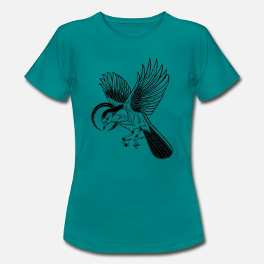 Bird Illustration Bird - illustration - Women's T-Shirt