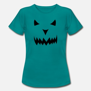 Horror Halloween Eve Horror Face - T-shirt dam