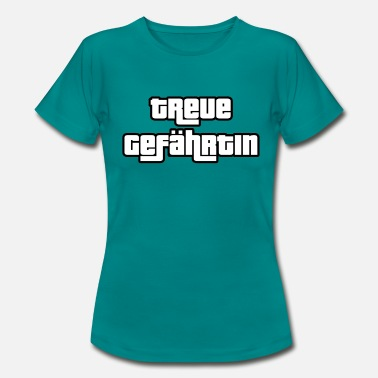 Companion The faithful companion - Women's T-Shirt