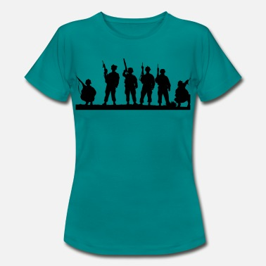Soldiers soldiers - Women's T-Shirt