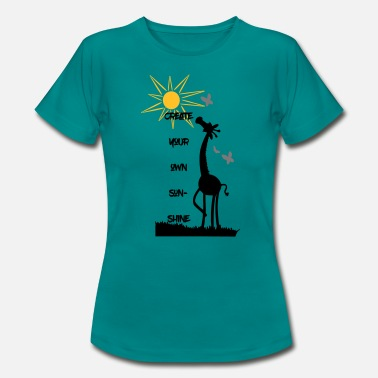 Myself create your own sunshine - Women's T-Shirt