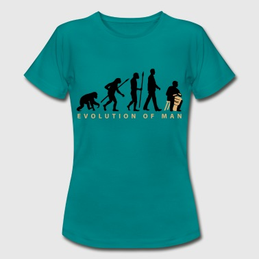 Evolution Djembe Trommler - Frauen T-Shirt