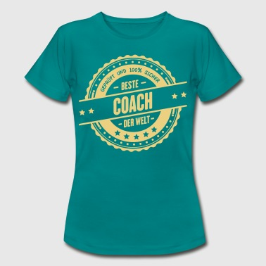 Beste Coach - Frauen T-Shirt