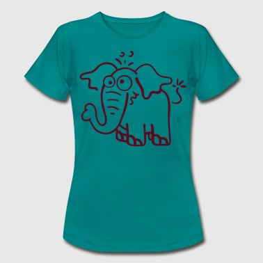 Funny elephant - Women's T-Shirt