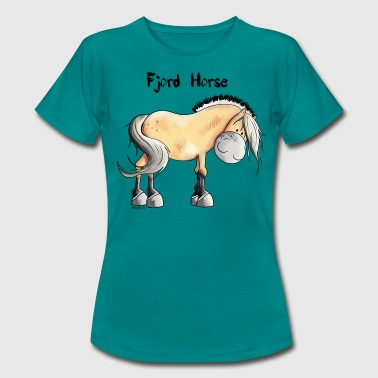 Cute Fjord Horse - Women's T-Shirt