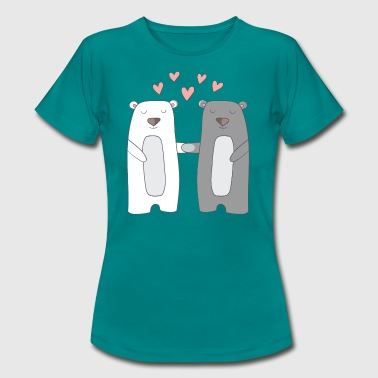 Bears in Love - Women's T-Shirt
