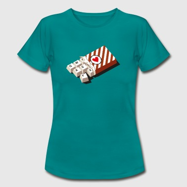 chockeys - Frauen T-Shirt