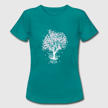 Tree in the shopping cart - Women's T-Shirt