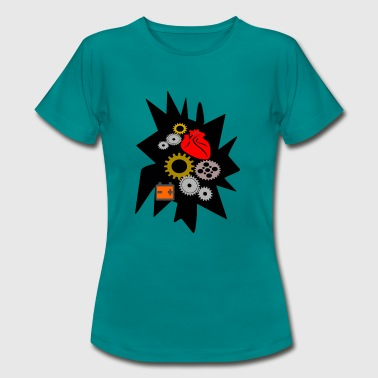 mechanical heart - Women's T-Shirt