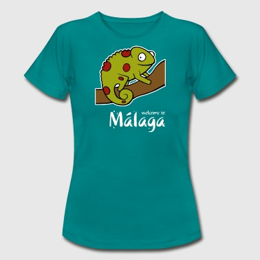 Welcome to Malaga 2 (dark) - Women's T-Shirt