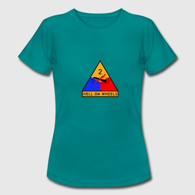 2nd_Armored_Division - Vrouwen T-shirt