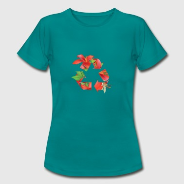 Recycle Nature - Vrouwen T-shirt