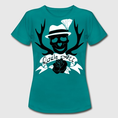 Rock Mi skull - Women's T-Shirt