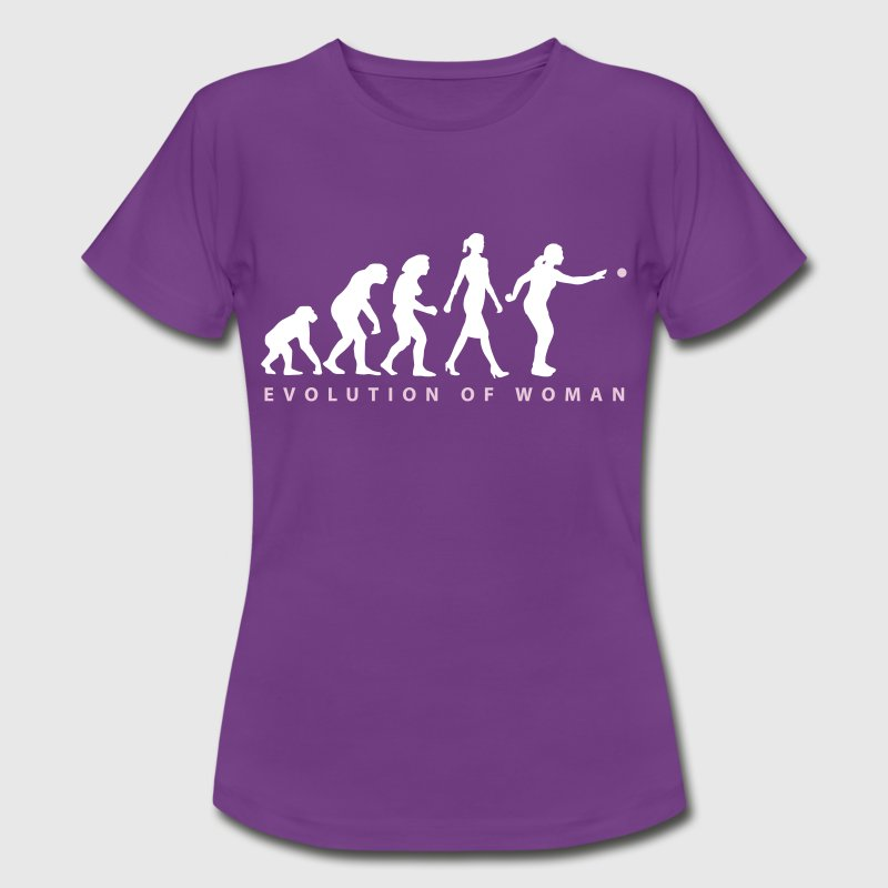Evolution Boule Pétanque Spielerin - Frauen T-Shirt